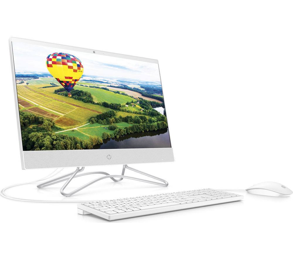 "Image of 22-c0058na 21.5"" All-in-One PC - Intelu0026reg Celeron?, 128 GB SSD, White, White"