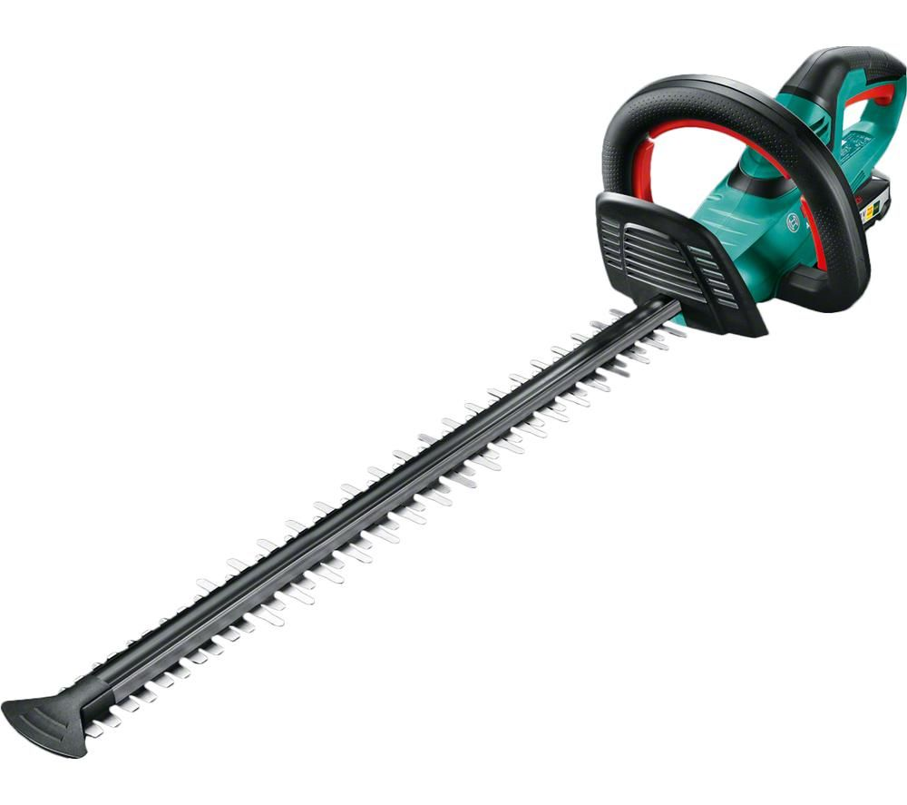 BOSCH AHS 55-20 LI Cordless Hedge Trimmer - Green, Green