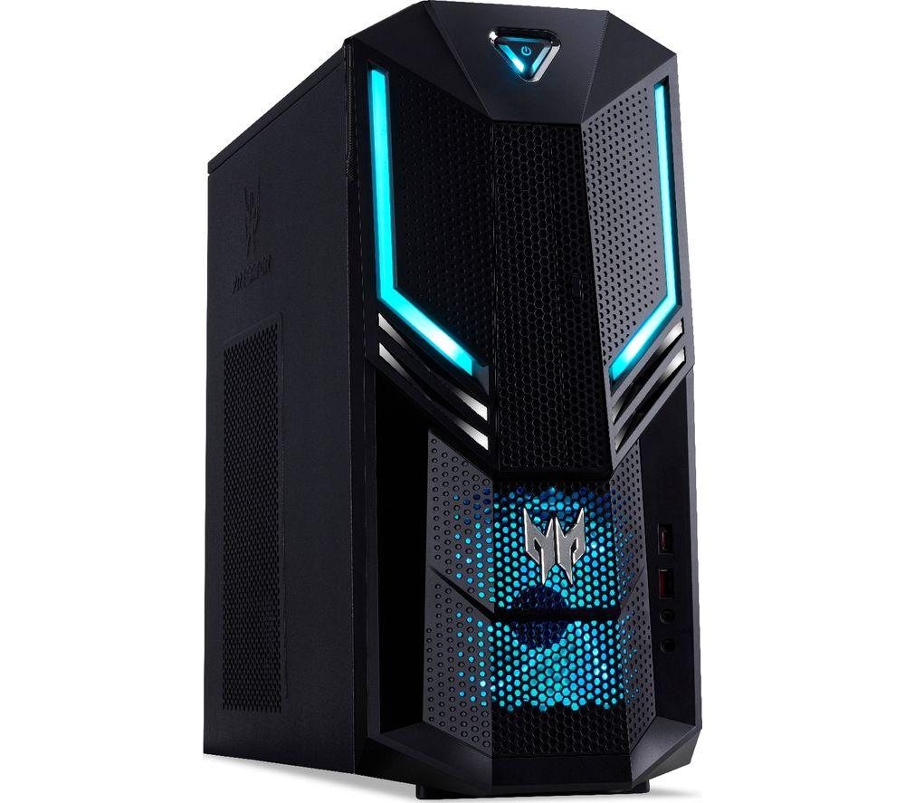 ACER PO3-600 Gaming PC - Intelu0026regCore? i7, GTX 1660 Ti, 1 TB HDD & 256 GB SSD