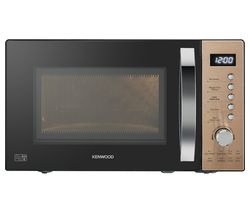 KENWOOD K20MCU20 Solo Microwave - Black & Copper Best Price, Cheapest Prices