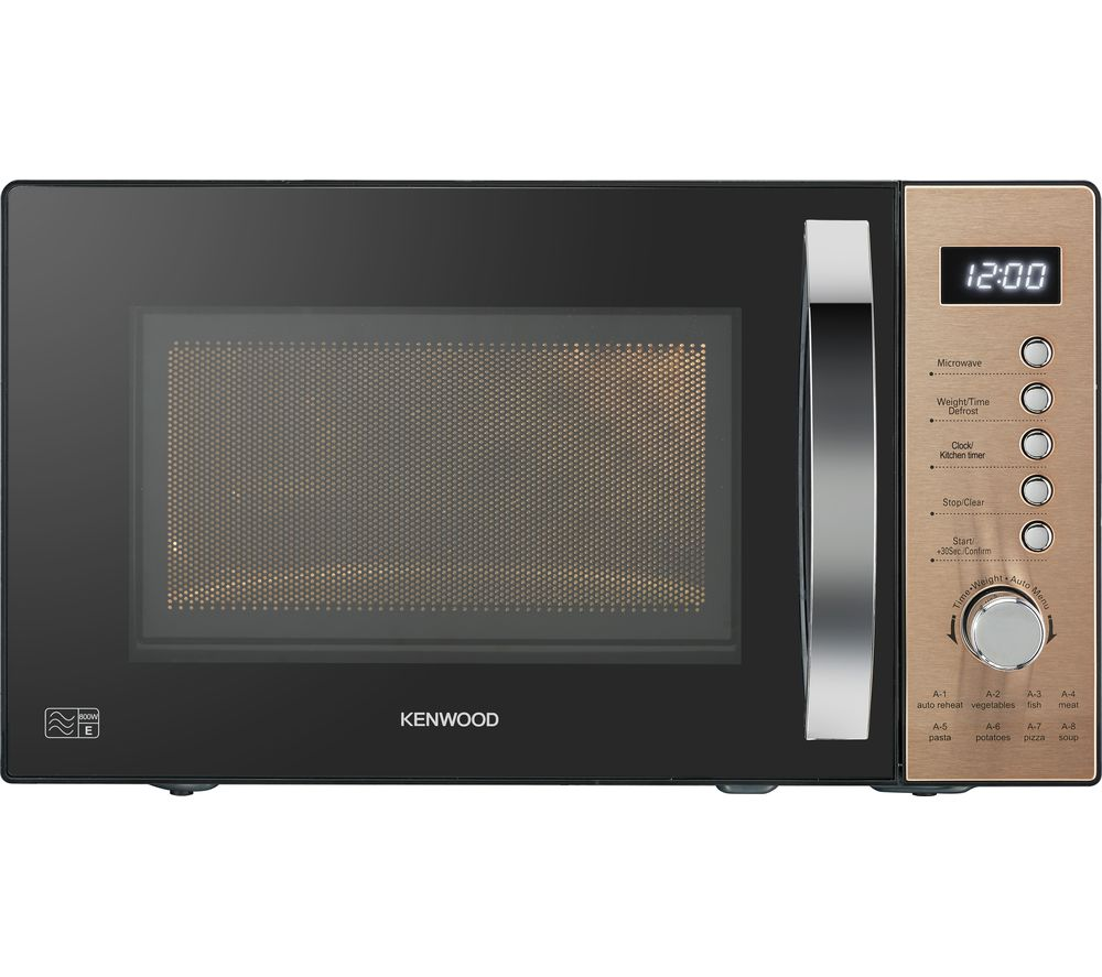 KENWOOD K20MCU20 Solo Microwave - Black & Copper, Black