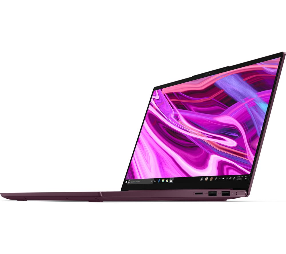 "Image of LENOVO Yoga Slim 7 14"" Laptop - AMD Ryzen 7, 512 GB SSD, Purple, Purple"