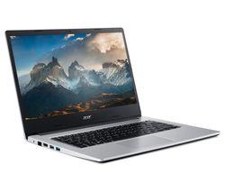 "Image of ACER Aspire 3 14"" Laptop - AMD Athlon, 128 GB SSD, Silver"