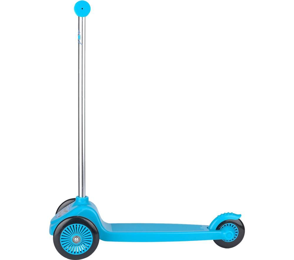 XOOTZ Tri Scooter Mini Kick Scooter - Blue