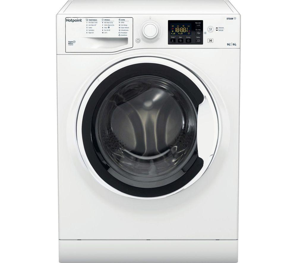 HOTPOINT RDG 9643 W UK N 9 kg Washer Dryer - White