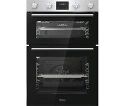 BID95211XUK Electric Double Oven - Stainless Steel