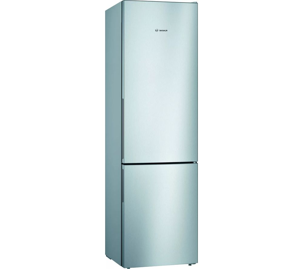 Image of BOSCH Serie 4 KGV39VLEAG 70/30 Fridge Freezer - Inox
