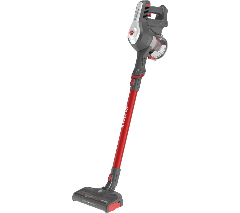 HOOVER H-Free 100 Pets HF122RPT Cordless Vacuum Cleaner - Grey & Red, Grey