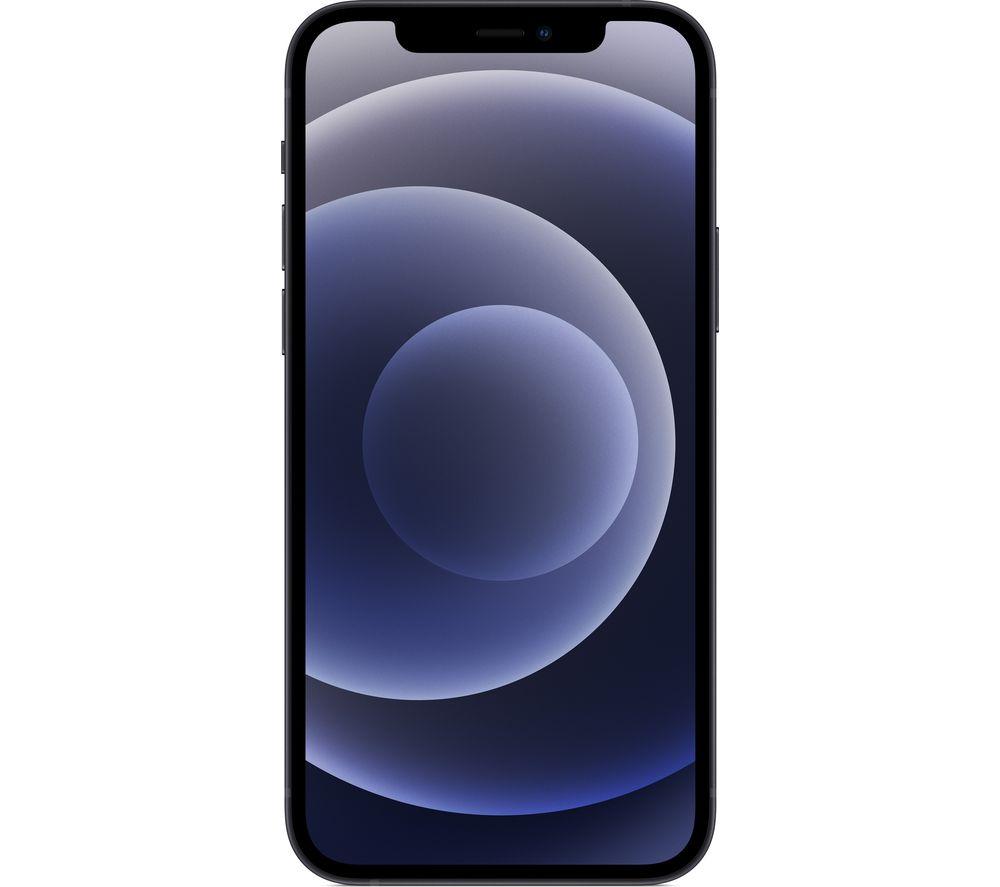 APPLE iPhone 12 - 64 GB, Black