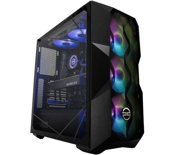 PC SPECIALIST Tornado R7X Gaming PC - AMD Ryzen 7, RTX 3080, 2 TB HDD & 512 GB SSD