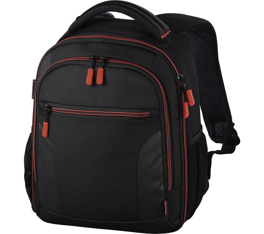 HAMA Miami 150 DSLR Camera Backpack - Black & Red