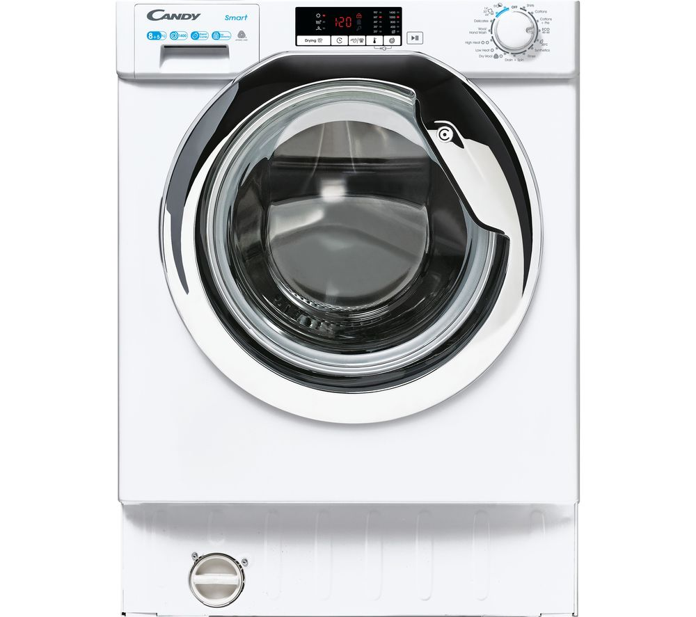 CANDY CBD485D2CE 8 kg Integrated Washer Dryer