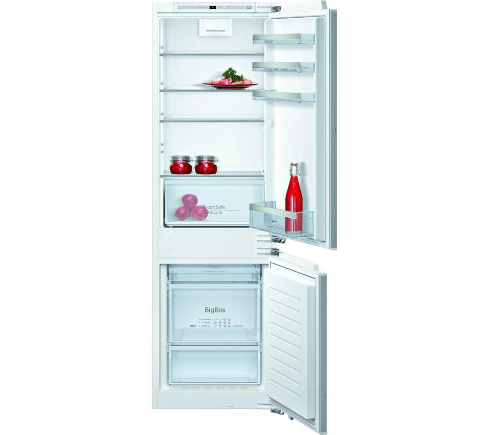 NEFF N50 KI7862FF0G 60/40 Integrated Fridge Freezer - Fixed Hinge