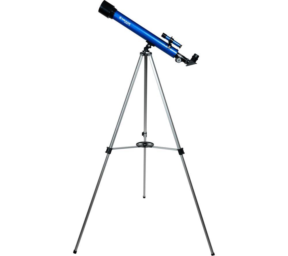 MEADE Infinity 50 Refractor Telescope - Blue, Blue
