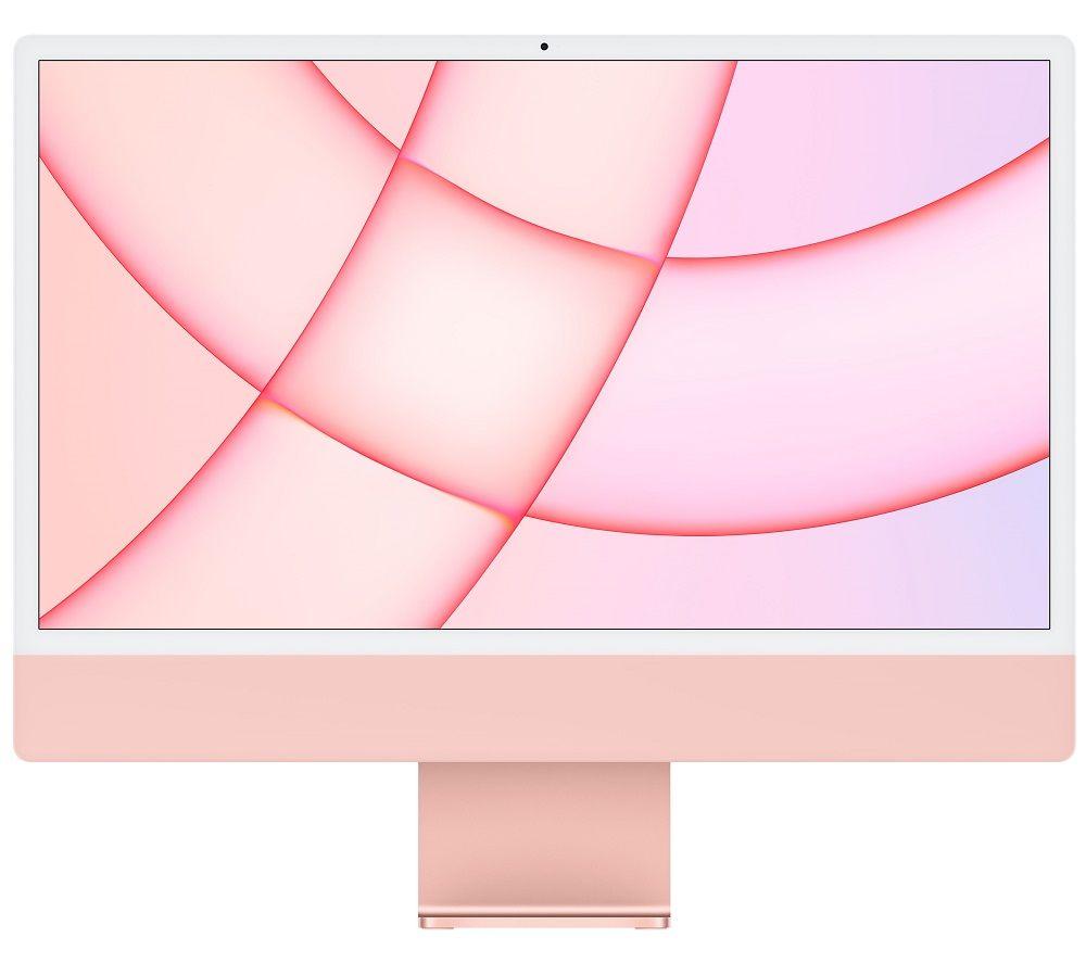 "Image of APPLE iMac 4.5K 24"" (2021) - M1, 256 GB SSD, Pink"