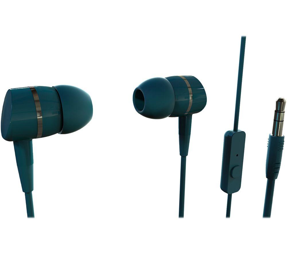 VIVANCO Smartsound Earphones - Petrol