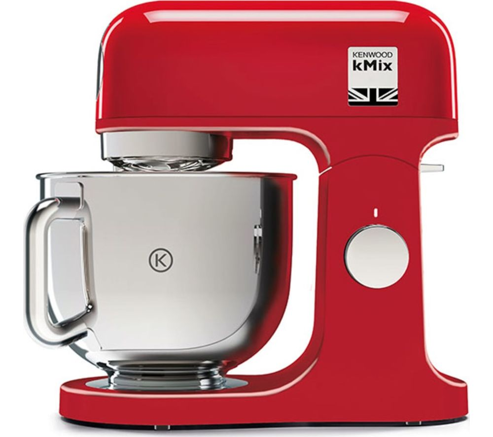KENWOOD kMix KMX750AR Stand Mixer - Red, Red
