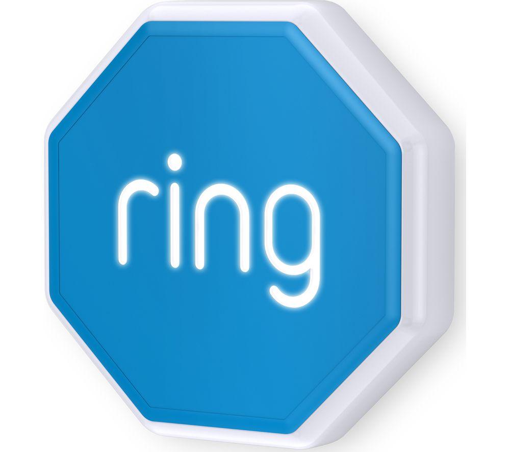 RING 4AS1S1-0EU0 Smart Outdoor Siren - White & Blue