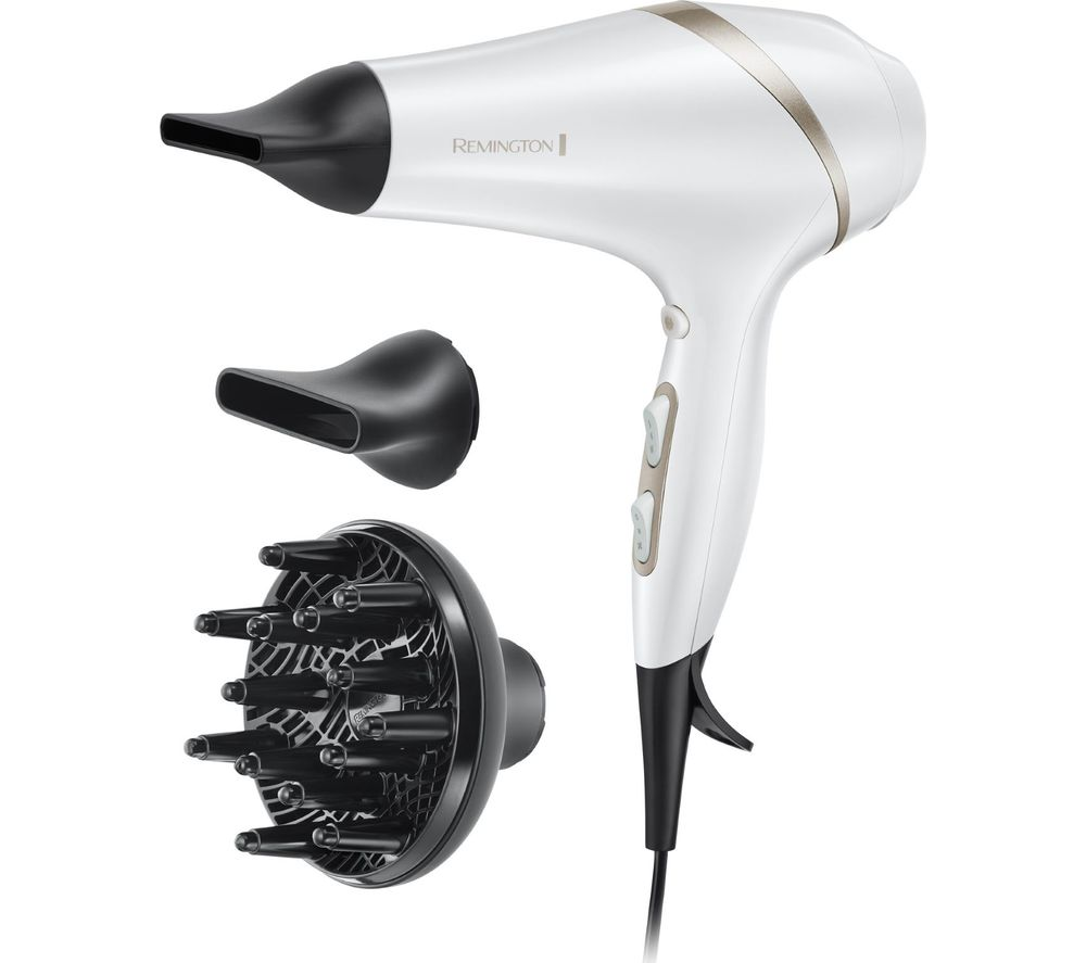 REMINGTON HYDARluxe AC8901 Hair Dryer -û White