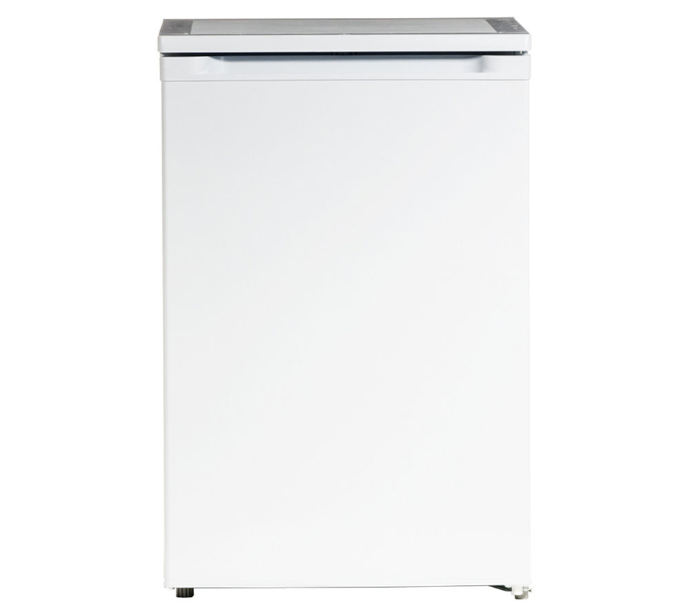 ESSENTIALS  CUF55W12 Undercounter Freezer - White, White