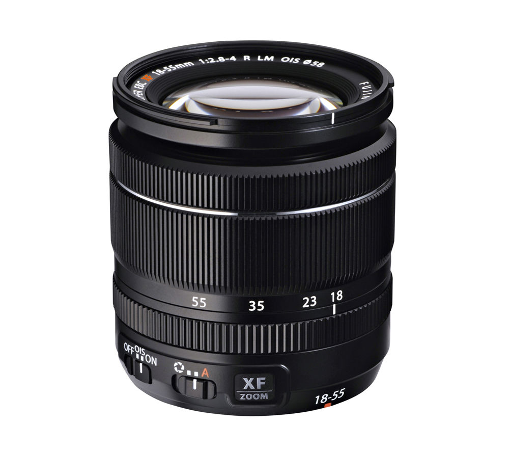 Compare cheap offers & prices of FujiFilm XF 18-55 mm f/2.8-4 OIS Zoom Lens manufactured by Fujifilm