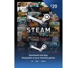 Steam Wallet Card - £20