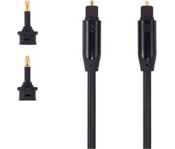 Black Series S1OPT114X Digital Optical Cable - 1 m