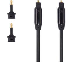 SANDSTROM AV Black Series S1OPT114X Digital Optical Cable - 1 m