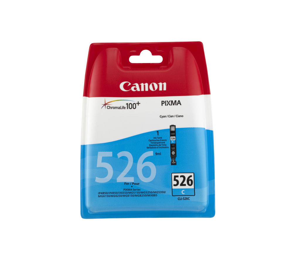 Compare retail prices of Canon CLI-526C Cyan Ink Cartridge to get the best deal online