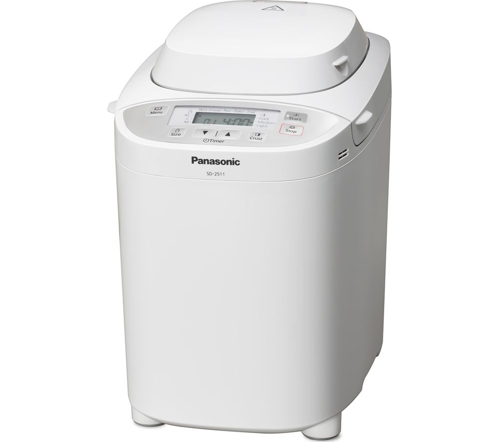 PANASONIC SD-2511WXC Automatic Breadmaker – White