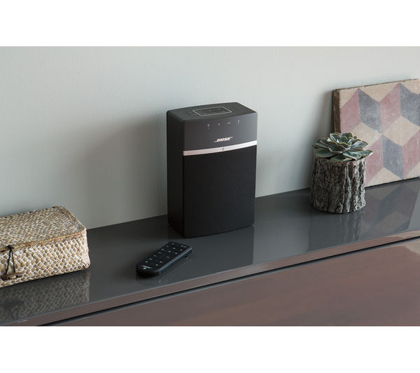 buy bose soundtouch 10 wireless multi room speaker free delivery currys. Black Bedroom Furniture Sets. Home Design Ideas