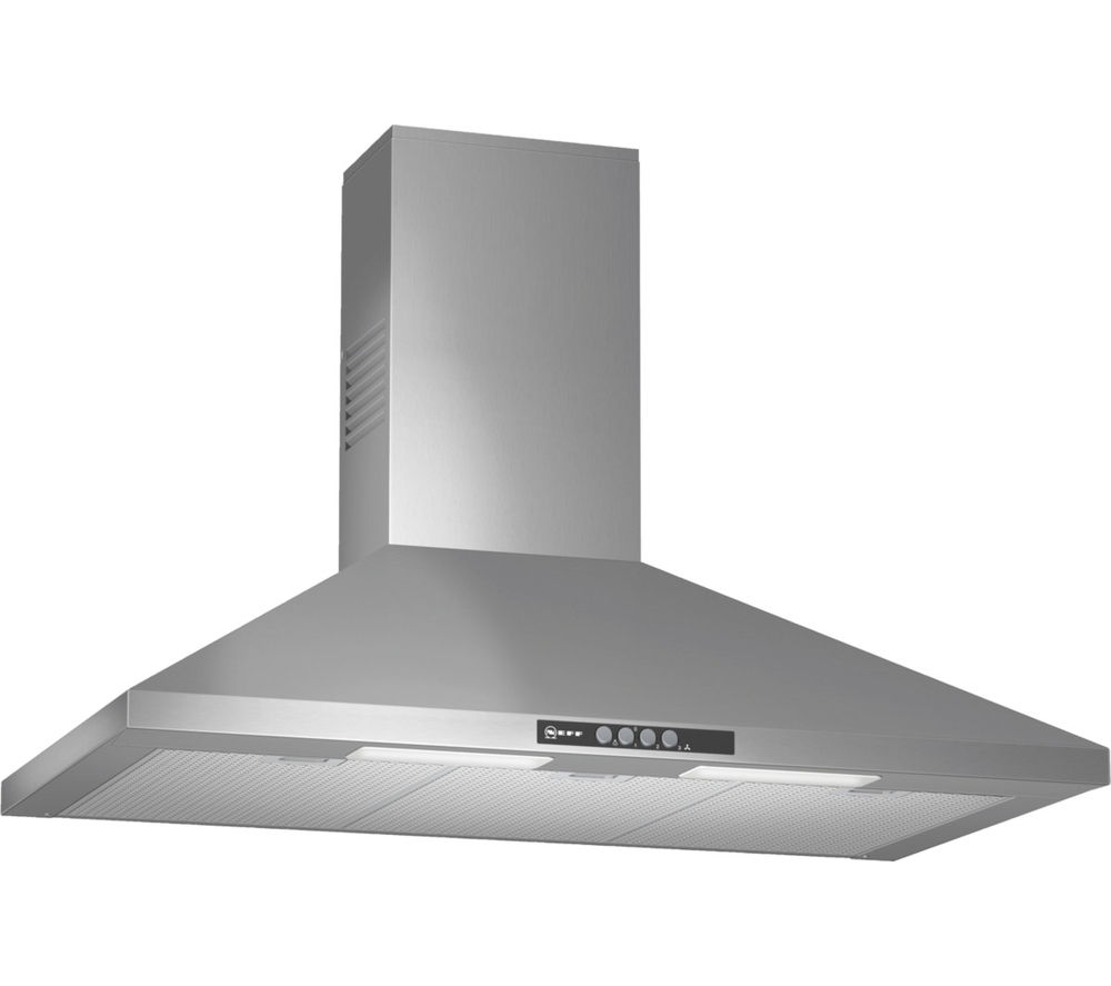 NEFF D69B21N0GB Chimney Cooker Hood - Stainless Steel