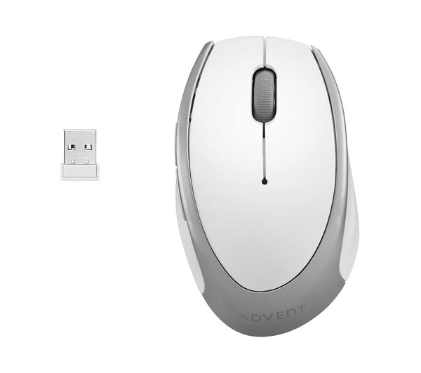 d7d38d96a44 Buy ADVENT AMWLWH16 Wireless Optical Mouse - White | Free Delivery ...