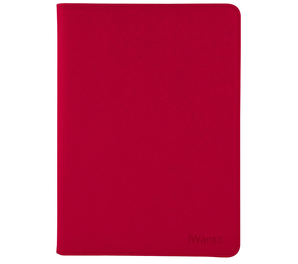 IWANTIT IIM4RD16 Folio iPad mini 4 Case - Red