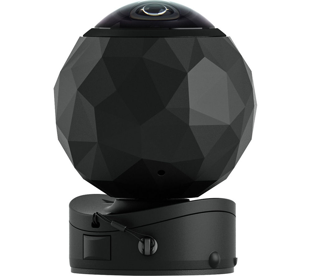 360FLY Panoramic 360 Action Camcorder - Black + Ultra Performance Class 10 microSD Memory Card - 32 GB