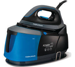 MORPHY RICHARDS Power Steam Elite 332002 Steam Generator Iron - Black & Blue