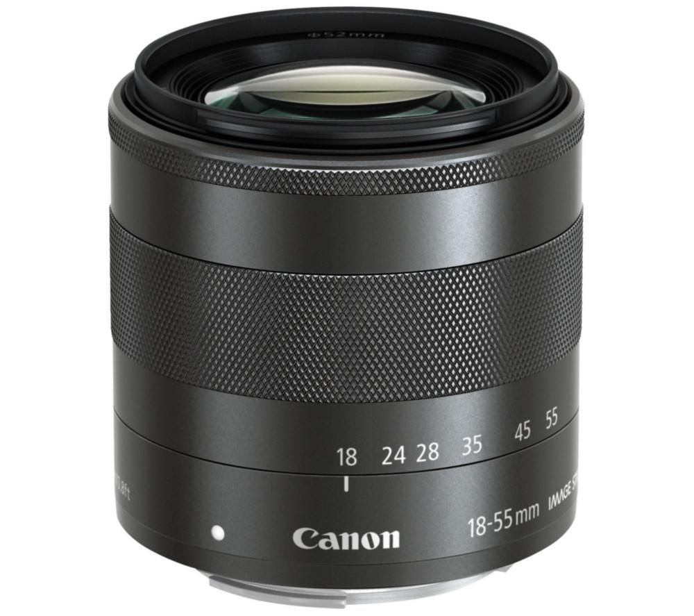 CANON EF-M 18-55 mm f/3.5-5.6 IS STM Standard Zoom Lens