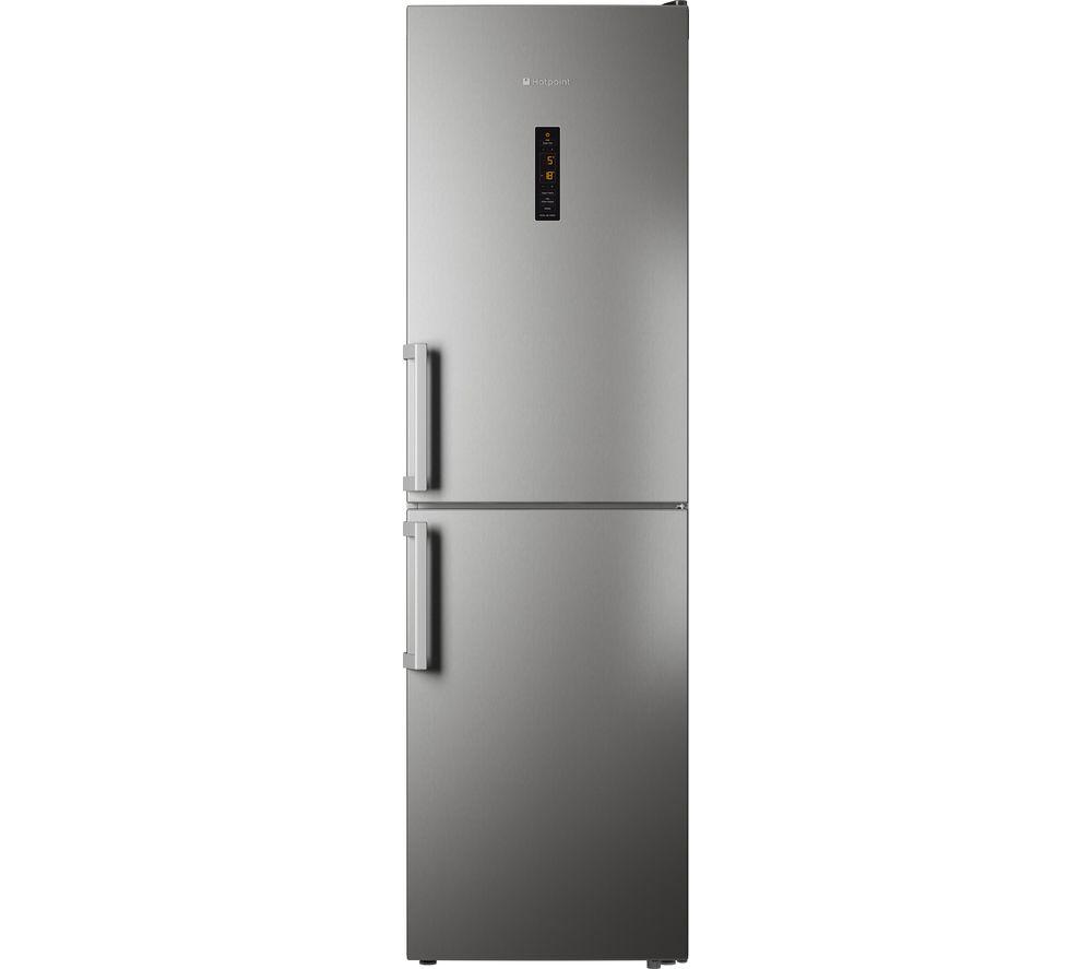 HOTPOINT XUL95T1ZXOJH 50/50 Fridge Freezer - Stainless Steel