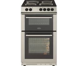 BELLING FS50ET 50 cm Electric Solid Plate Cooker - Silver Best Price, Cheapest Prices