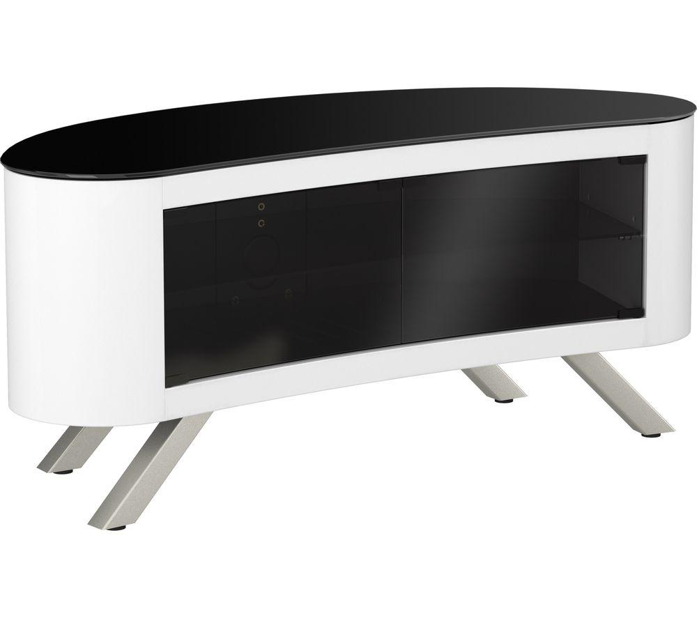 AVF Bay 1150 TV Stand - White