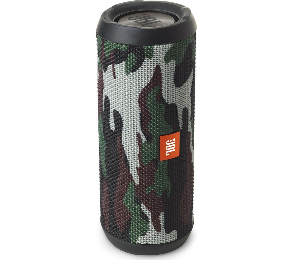 Jbl Flip 3 Squad Portable Wireless Speaker Camouflage Fast Charge Mini 2 Plus Bluetooth Smartphone Aux