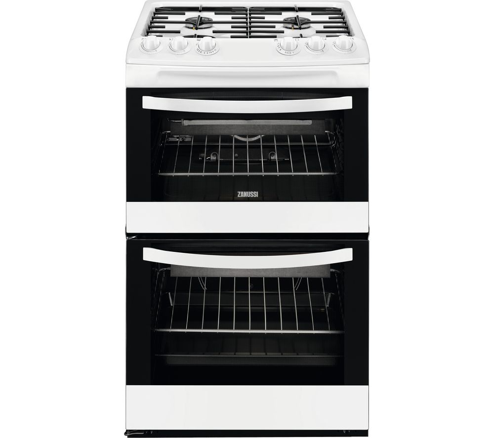 Compare prices for Zanussi ZCG43010WA 55cm Gas Cooker