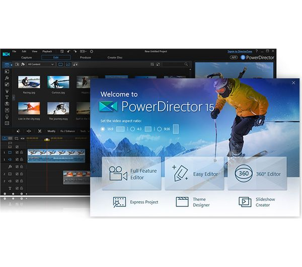 Cyberlink powerdirector 7.0