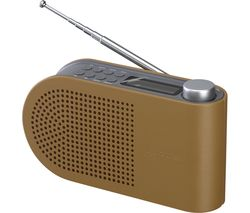 SANDSTROM SPLDAB17 Portable DAB/FM Radio - Leather & Grey