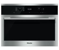 MIELE DG6300 Steam Oven - Black & Steel