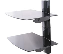 TTAP TTD-2 Twin Glass Wall Shelf