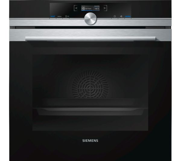Image of SIEMENS HB672GBS1B Electric Oven - Stainless Steel