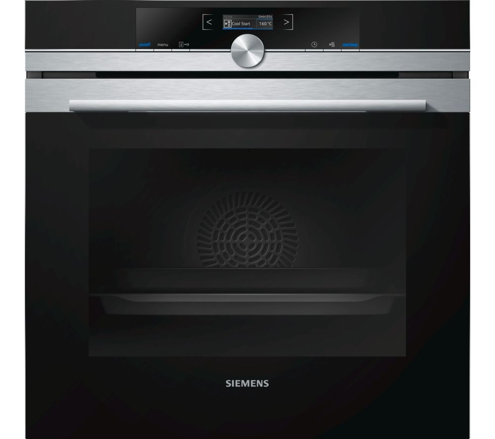 Image of SIEMENS HB672GBS1B Electric Oven - Stainless Steel, Stainless Steel