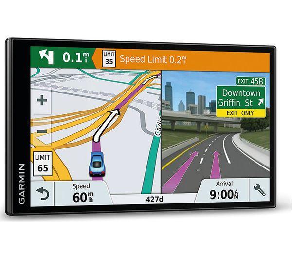 buy garmin drivesmart 61 lmt d sat nav full europe maps free delivery currys. Black Bedroom Furniture Sets. Home Design Ideas