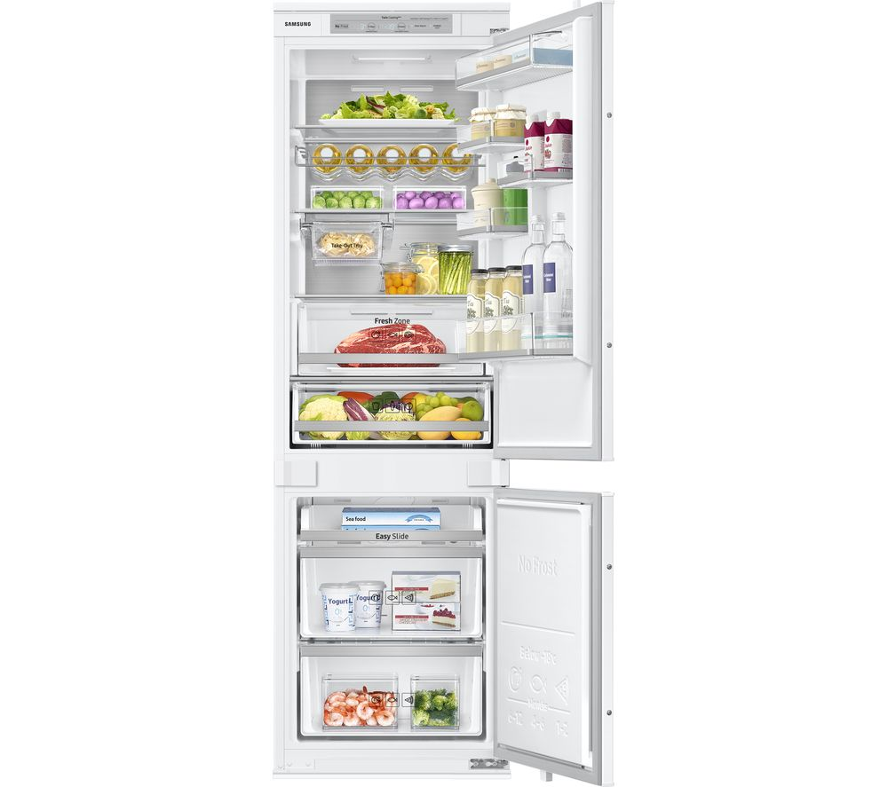 Compare prices for Samsung BRB260087WW-EU Integrated Smart 60-40 Fridge Freezer